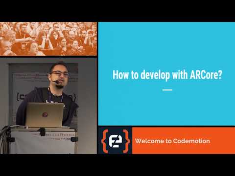Hello ARCore - Giovanni Laquidara - Codemotion Milan 2017