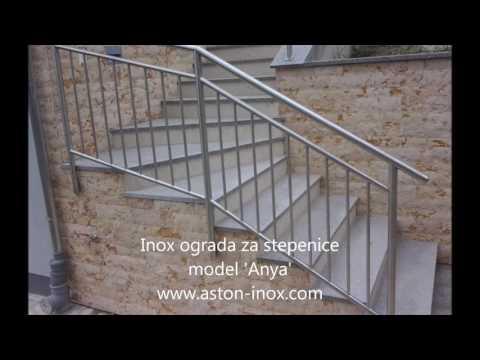 Inox Ograde Za Stubište - Www.aston-inox.com