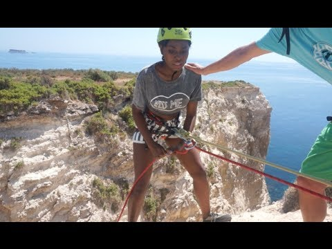 ACTION WOMAN! Abseiling and adventures!