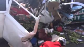 Na Bahia acidente entre dois veículos deixa 05 mortos na BR 349