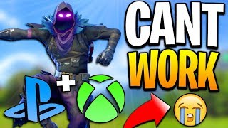 Fortnite Cross Platform Between Xbox & PS4 - Why Fortnite Crossplay PS4 & Xbox Can't Happen.. thumbnail