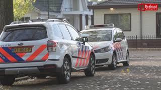 (VIDEO) 31-10-2018 Politie valt woonwagenkamp Breda binnen, 32-jarige bewoner aangehouden