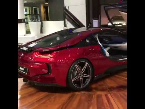Bmw I8 Lava Red Youtube