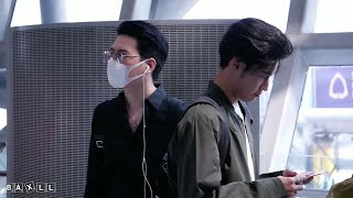 Download lagu 200118 Singto & Krist - Heading to CNX Airport @ BKK Airport