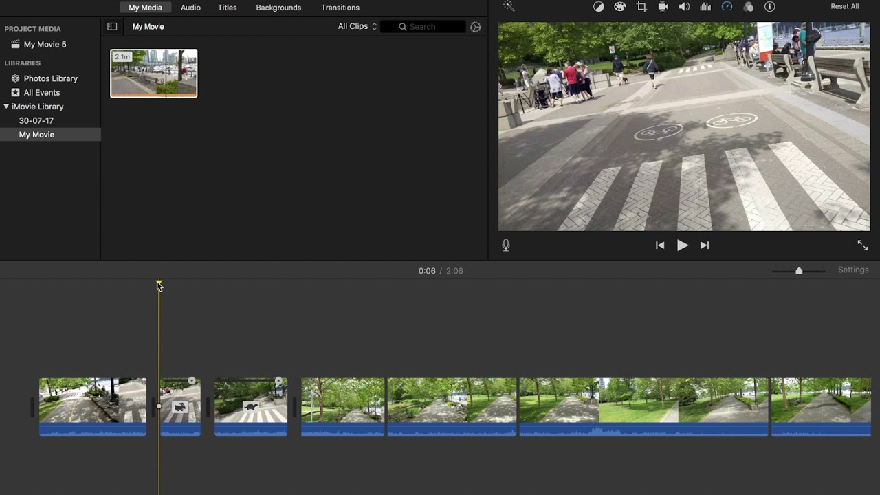 iMovie How to Speed Up and Slow Down Video Clips - 2019