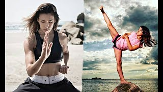 BEST Female Martial Arts 2018!! PART #5 Girls Power
