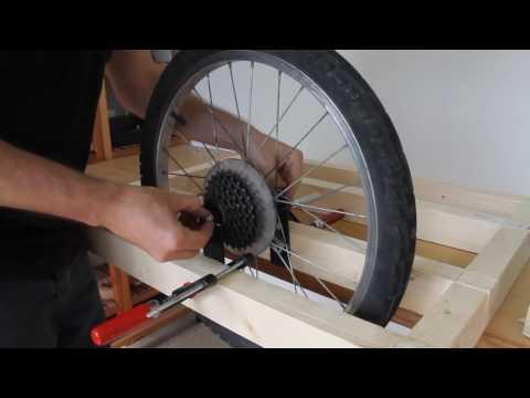 Самодельный прицеп для велосипеда из дерева (часть1).