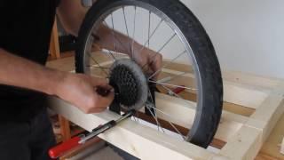 как сделать люльку на велосипед из дерева