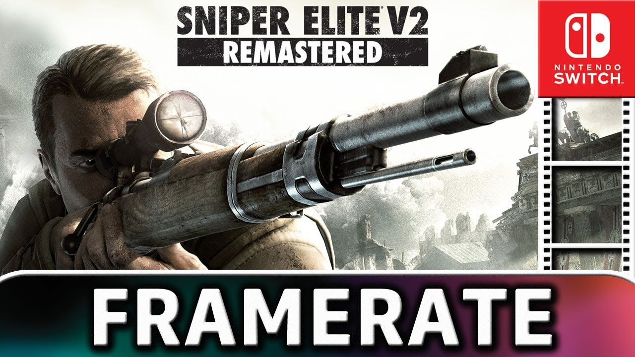 Sniper Elite V2 Remastered | Frame Rate TEST on Nintendo Switch