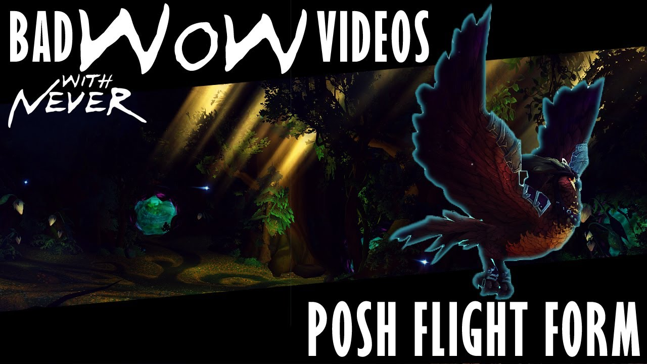 Posh Flight Form - Never gets the Lunarwing Owl in World of ...