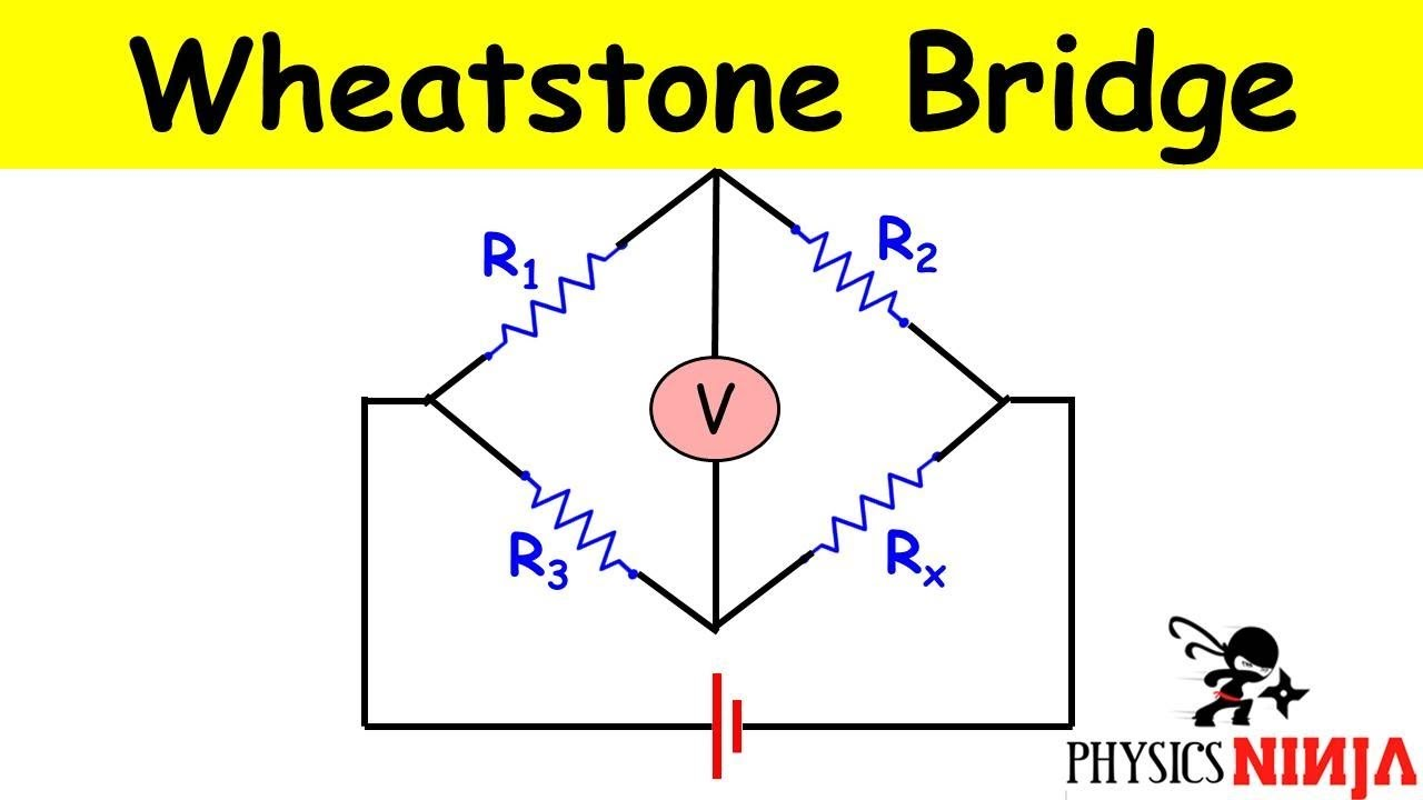 Wheatstone Bridge Problem - YouTubeYouTube