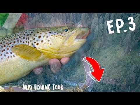 BIENVENUE En ITALIE ! - Alps Fishing Tour EP 3