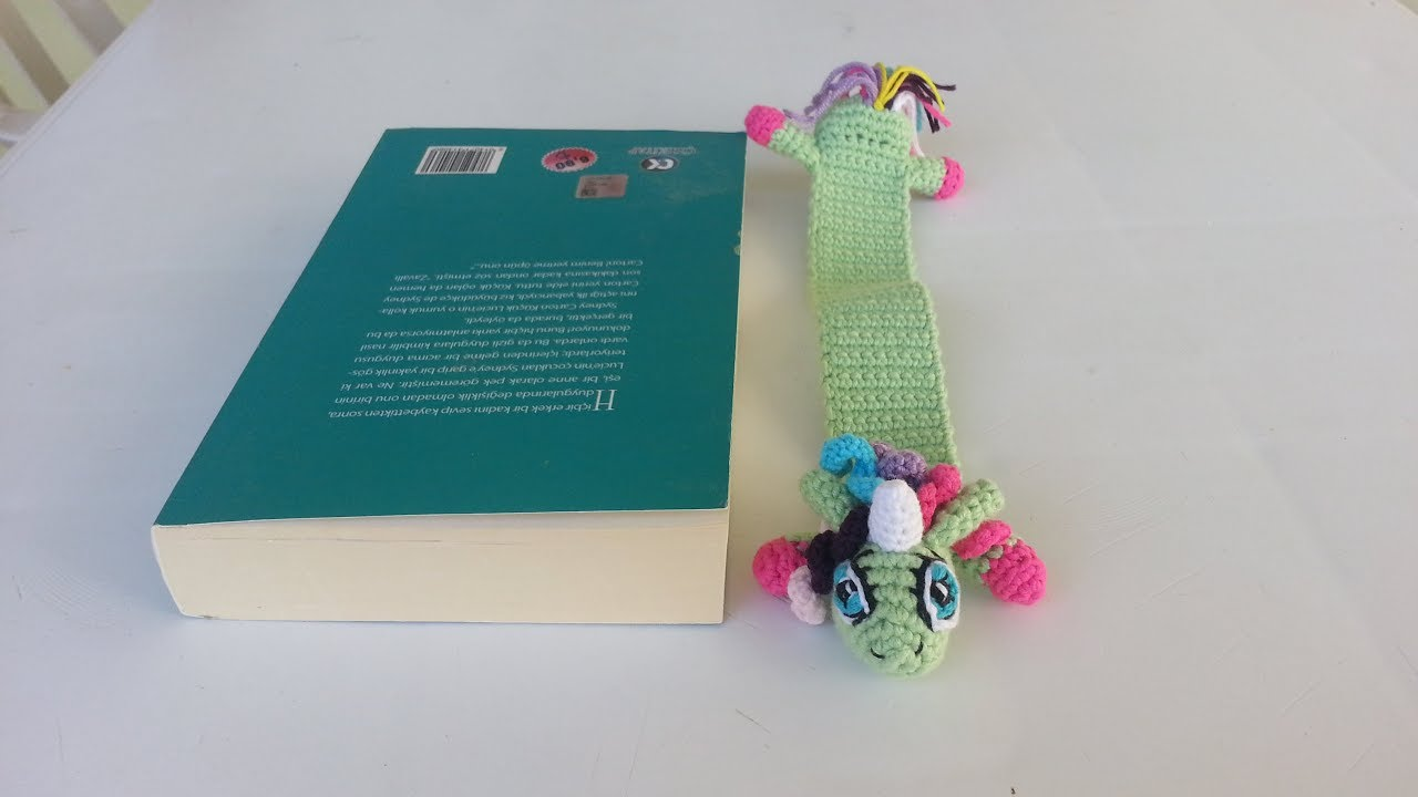 Used Amigurumi pony unicorn kitap ayracı for sale in Çayırova ... | 720x1280