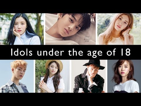 Kpop idols under the age of 18 [July 2017]