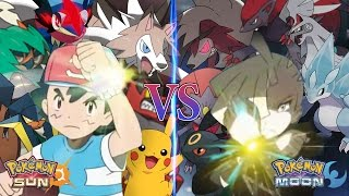 Pokemon Sun and Moon Alola Ash Vs Gladion (Pokemon Team Prediction)