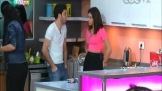 تحضير الاكل و حديث بين الي و ليا في المطبخ 1- ستار أكاديمي 10 | 14/09/2014