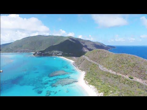 British Virgin Islands by Drone | Anam Cara Villa