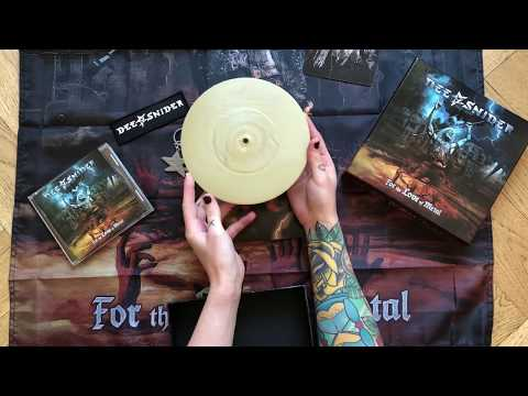 DEE SNIDER - For The Love Of Metal (Unboxing) | Napalm Records