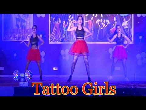 Tattoo Girls.. Dance performance PDI.. From ABCD-2