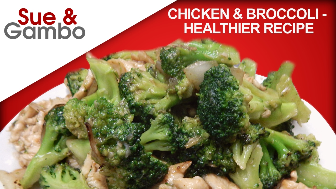 Chinese Chicken And Broccoli - Healther Recipe - Youtube-3156