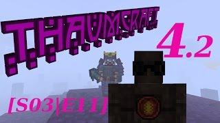 Minecraft [Thaumcraft 4.2] #11 - Деревянные Големы Такие Няши!