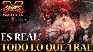 Street Fighter 5 Arcade Edition ES REAL Y Esto Es Lo Que Incluye (Vale O No La Pena!?)