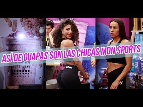 MDN SPORTS Y SUS BELLEZAS EN LA EXPO SPORT FITNESS 2019