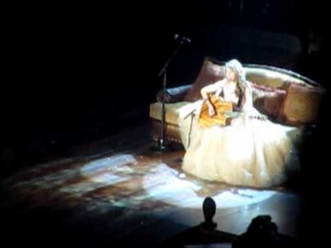 Taylor Swift Ours Rbc Center 11 17 11 Raleigh Nc Speak Now Tour 2011 Youtube