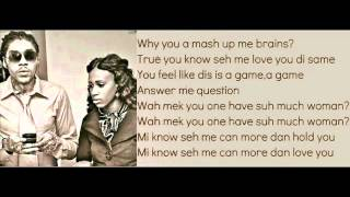 Download Vybz Kartel Ft Gaza Slim - Suh Much Woman (Lyrics on Screen) MP3 song and Music Video