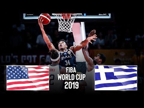 🔴 USA 🇺🇸 v Greece 🇬🇷 | Classic Full Game - FIBA Basketball World Cup 2019