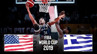 USA 🇺🇸 v Greece 🇬🇷 | Classic Full Game - FIBA Basketball World Cup 2019