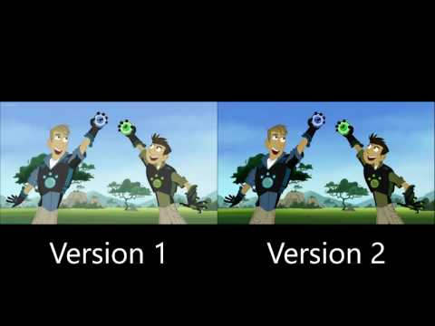 Wild Kratts Theme Song Comparison
