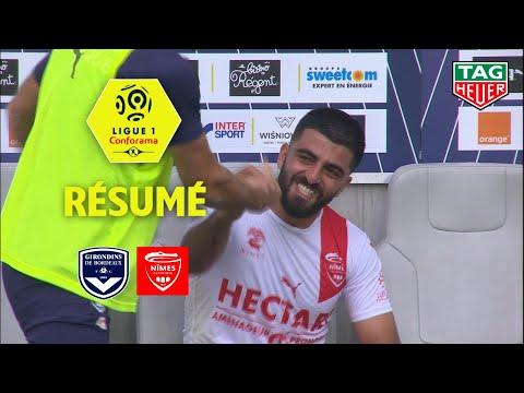 Girondins de Bordeaux - Nîmes Olympique ( 3-3 ) - Résumé - (GdB - NIMES) / 2018-19