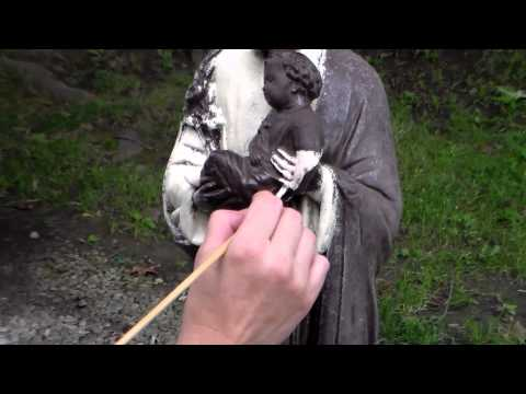 Painting a statue in detail - Joseph ( long video )