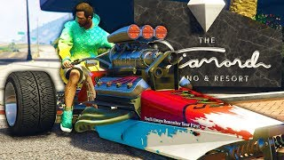 I Drove a Motorcycle With a Car Engine - GTA Online Casino DLC