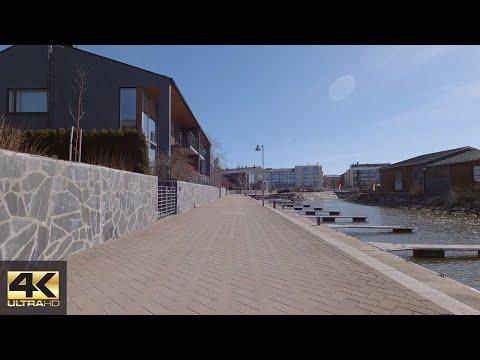 【4K】Cycling - Early spring ride to Puotila's Manor, Helsinki