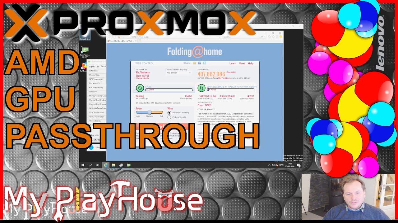 Proxmox AMD RX480 GPU Passthrough to Server 2019 - 1010