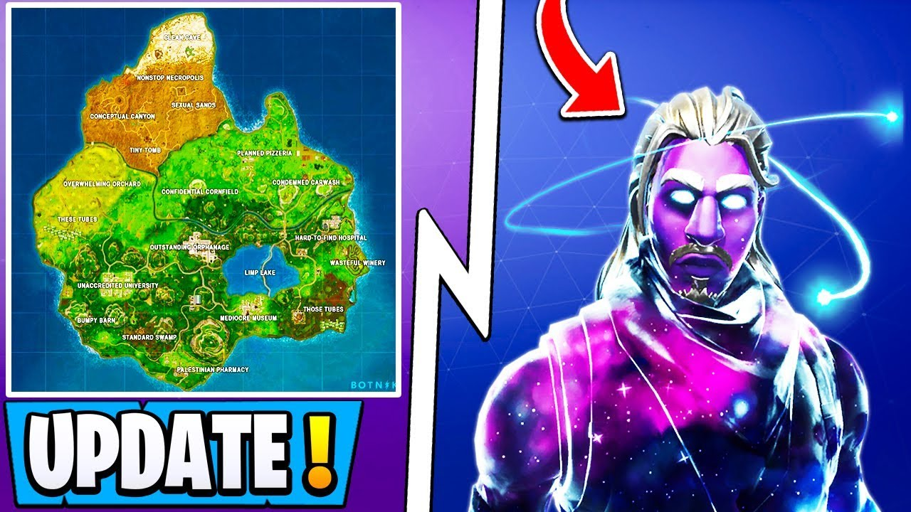 *NEW* Fortnite Update! | New Map Next Week, Galaxy In Shop ...