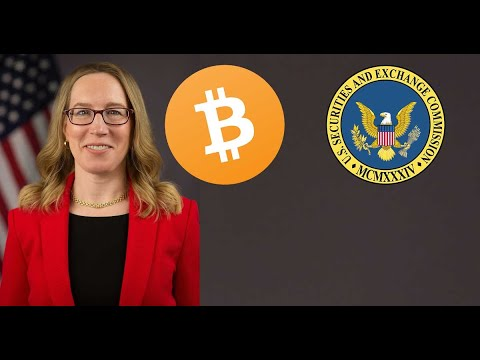 "SEC Hester Peirce on Bitcoin ""I dont see how you could ban it...Be foolish for government to try"""