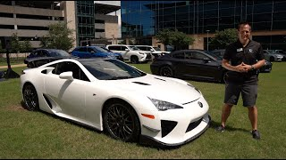 Is the Lexus LFA the most underrated supercar ever built?