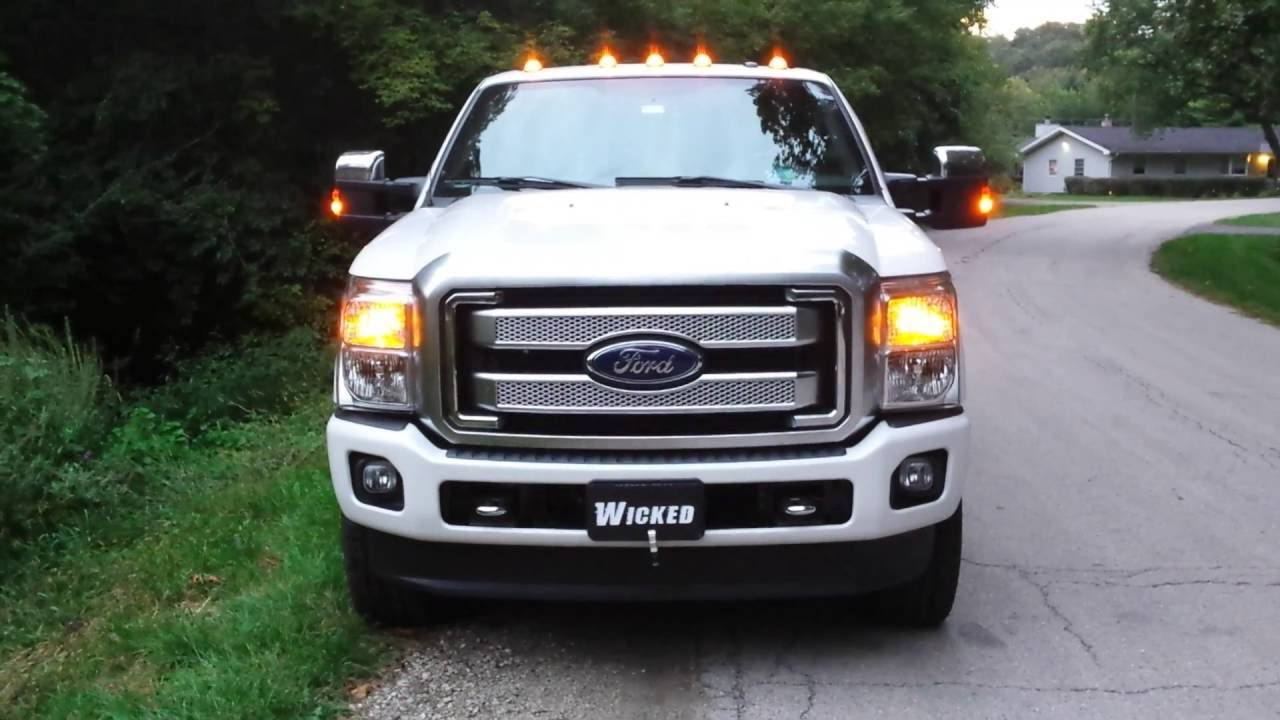 2016 F-250 Platinum LED Strobe Lights Everywhere www ...