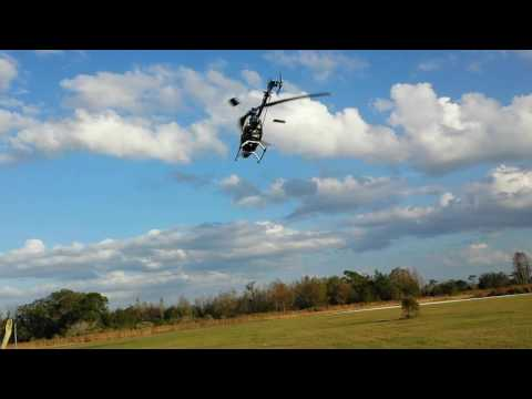 Eyal  Plotnik fly T-rex 450 at bay City Flyers December 17th 2016