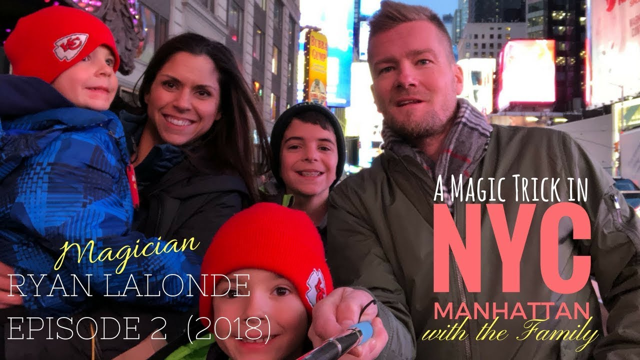 Episode - 02 A magic trick in NYC🗽 with the Fam❤️