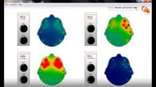 Альфа тренинг аудио-визуальной стимуляции (BWE) под контролем ЭЭГ (Emotiv EPOC)(На видео видно как меняется ЭЭГ мозга в процессе альфа тренинга независимо от веры и предубеждений абсолют..., 2014-06-07T13:49:36.000Z)