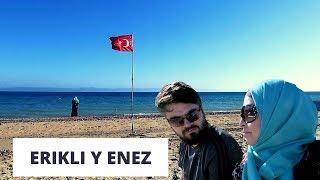 VAMOS A LA PLAYA + Té Con Mi Suegra | Erikli y Enez| Mexicana En Turquía