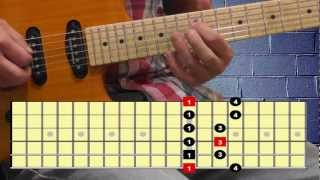 Lenny Kravitz - are you gonna go my way solo lesson - part A