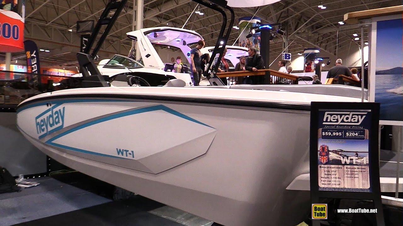 2017 Heyday WT-1 Motor Boat - Walkaround - 2017 Toronto Boat Show