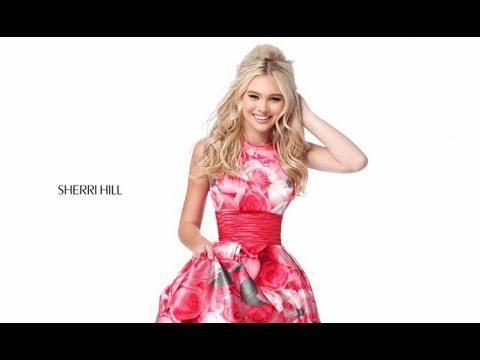5b39152585 Sherri Hill 51800 Prom Dress - YouTube