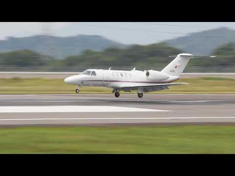 JA008G [Ministry Civil Aviation Bureau] Cessna 525C Citation CJ4  L/D RWY26 RJOT