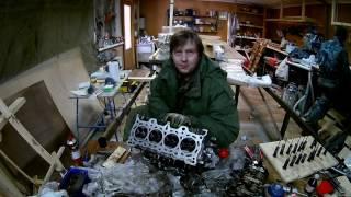 Ремонт двигуна Honda Civic/Partner D15B Глава 4: Капиталим голову